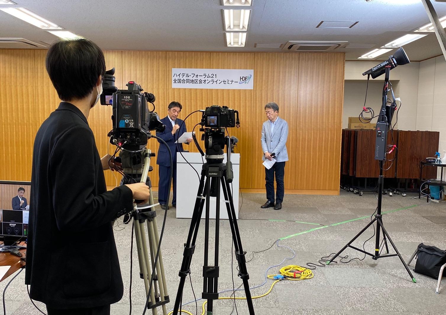 錦明印刷本社にて、ジャーナリストの池上彰氏が講演実施